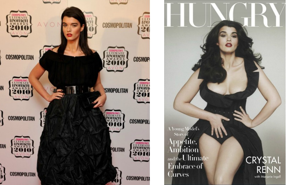 Hungry: A Young Model's Story of Appetite, Ambition, and the Ultimate Embrace of Curves de Crystal Renn.