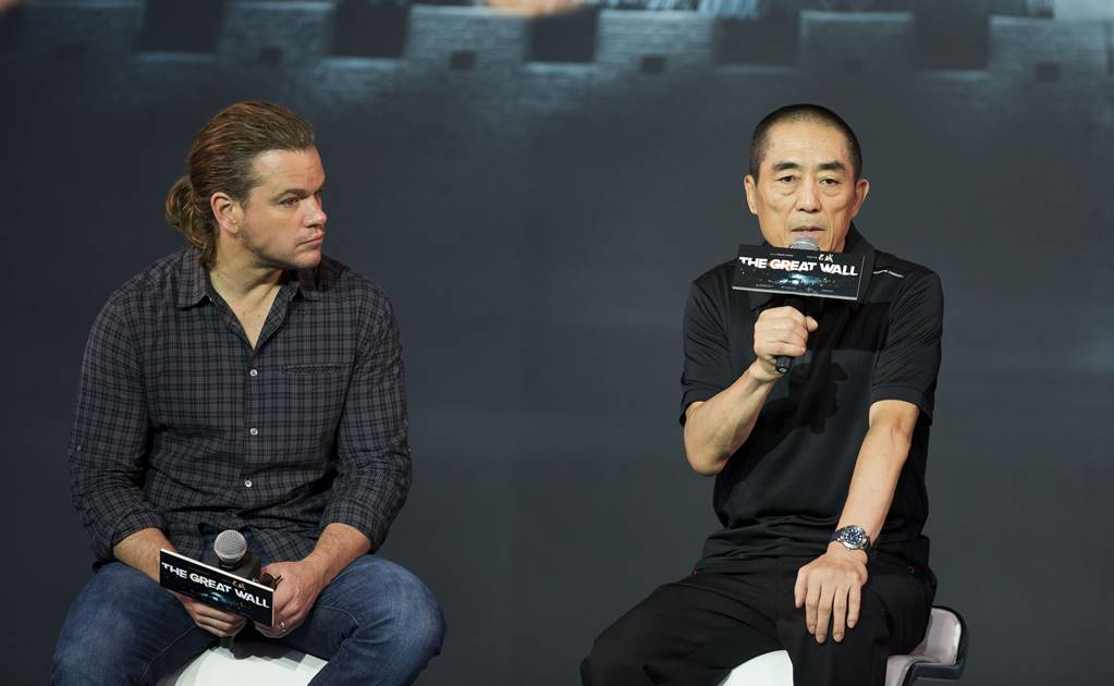 Director chino Zhang Yimou defiende al actor Matt Damon