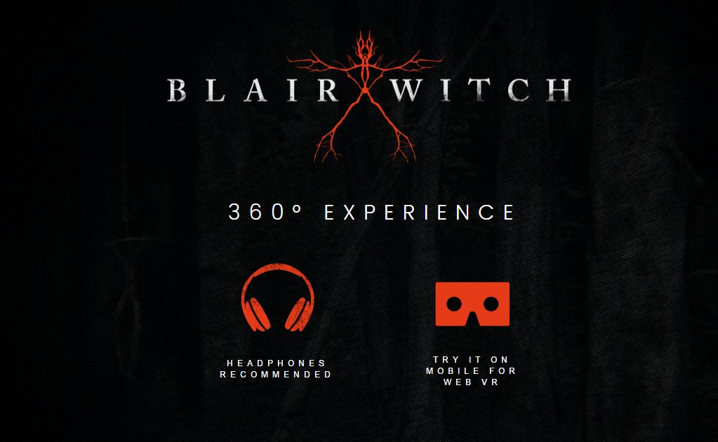 "Realidad virtual con ""Blair Witch"""