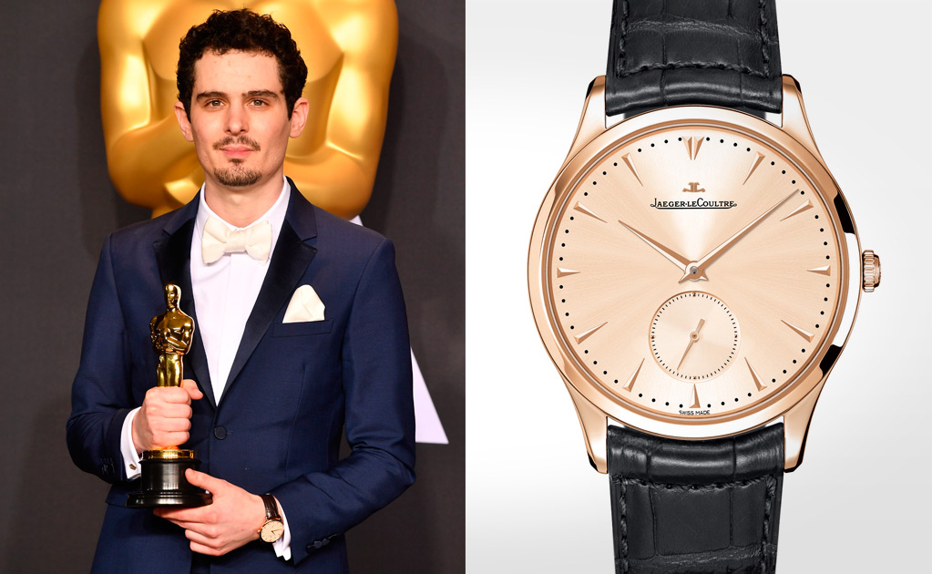 Damien Chazelle/ Jaeger-LeCoultre Master Grande Ultra Thin Small Second