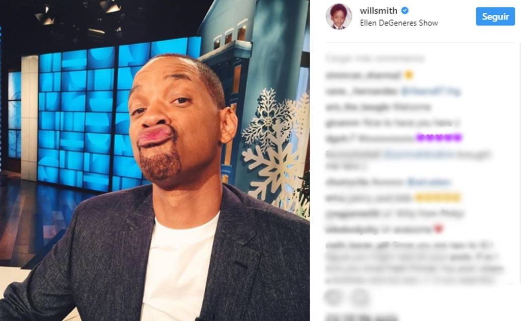 Will Smith abre Instagram y bate récord