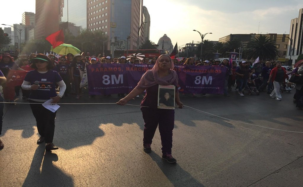8M: Women demand an end to femicide in Mexico
