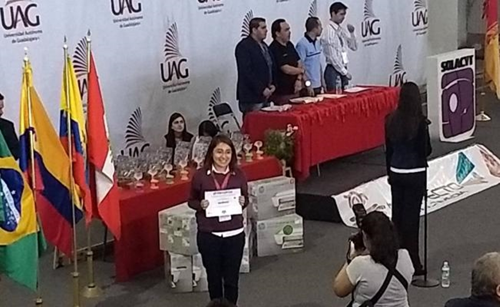 Mexican student wins bronze at Science contest