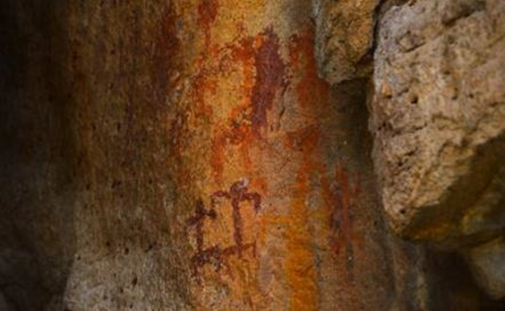 Cave painting site opens in Guanajuato