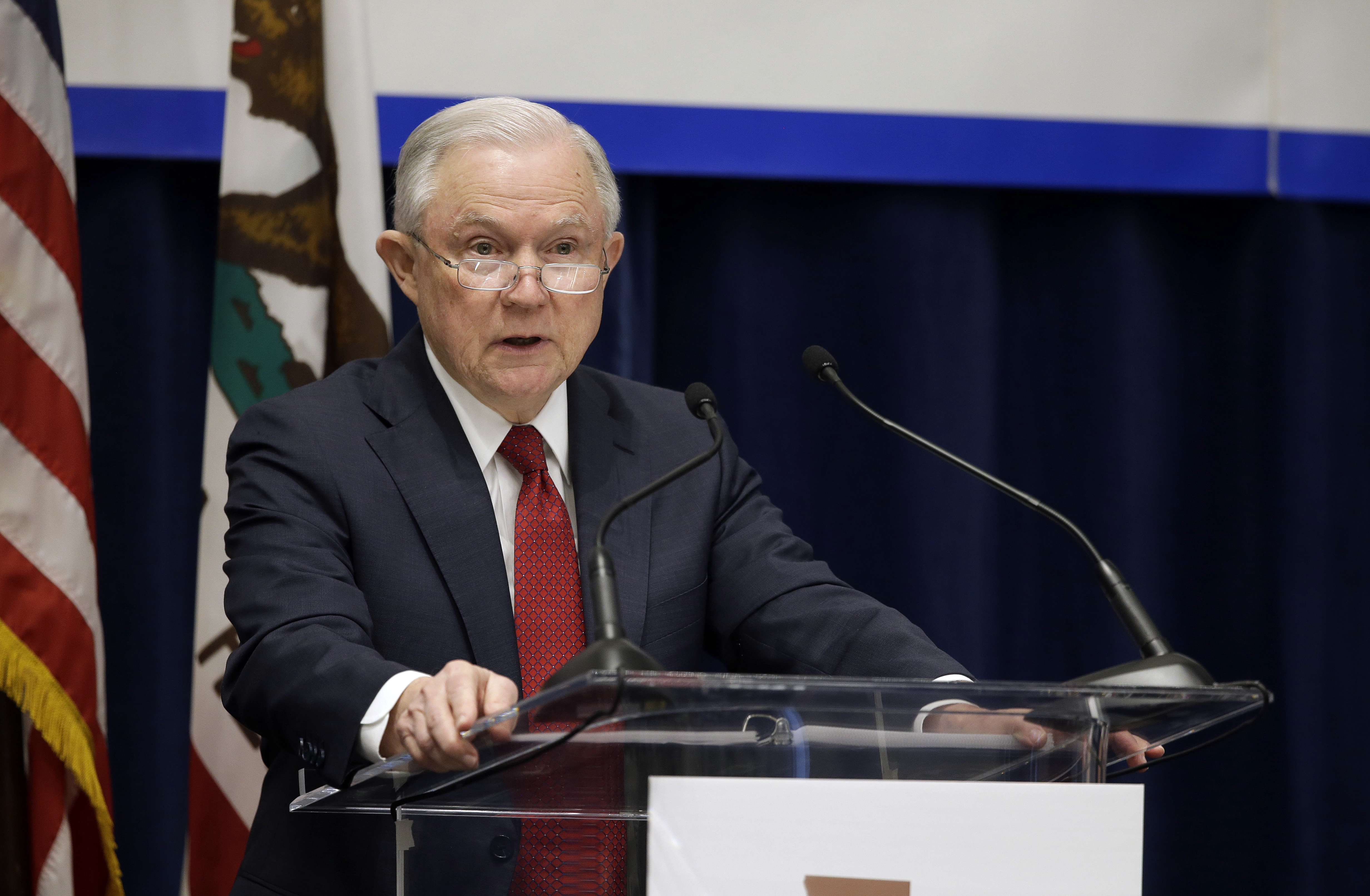 california governor accuses sessions - HD2000×1000