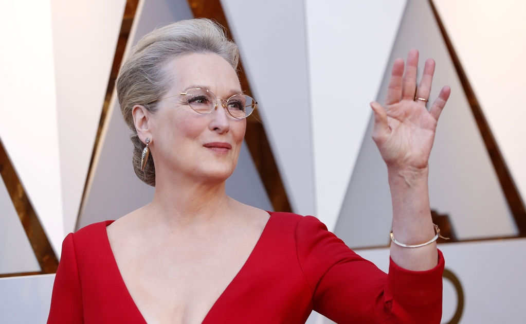 "Meryl Streep llega a set de""Big Little Lies"""