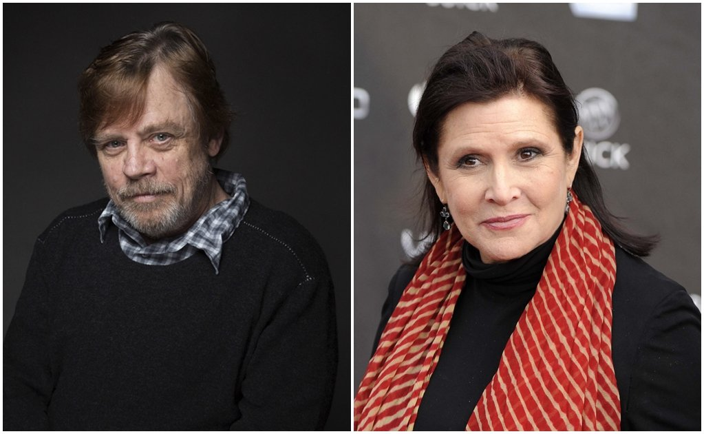 Carrie Fisher es irremplazable: Mark Hamill