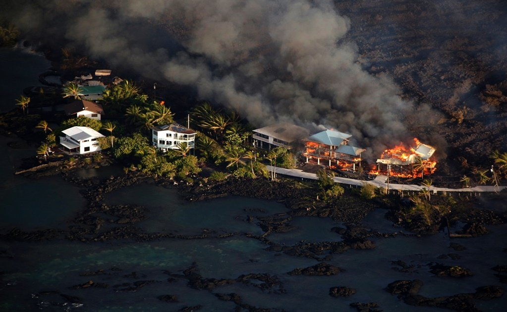 Property losses mount on Hawaii as lava flow spreads