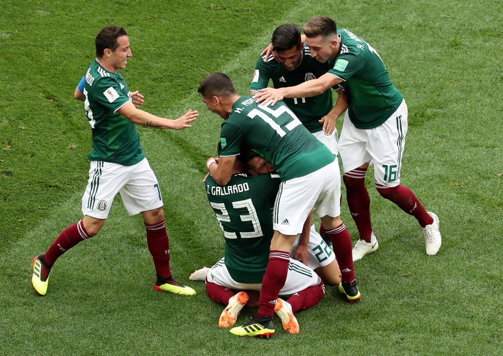 Mexico wins first World Cup match