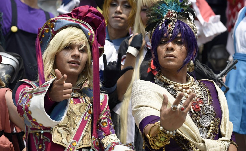 Cosplay takes over the National Museum of Cultures in Mexico