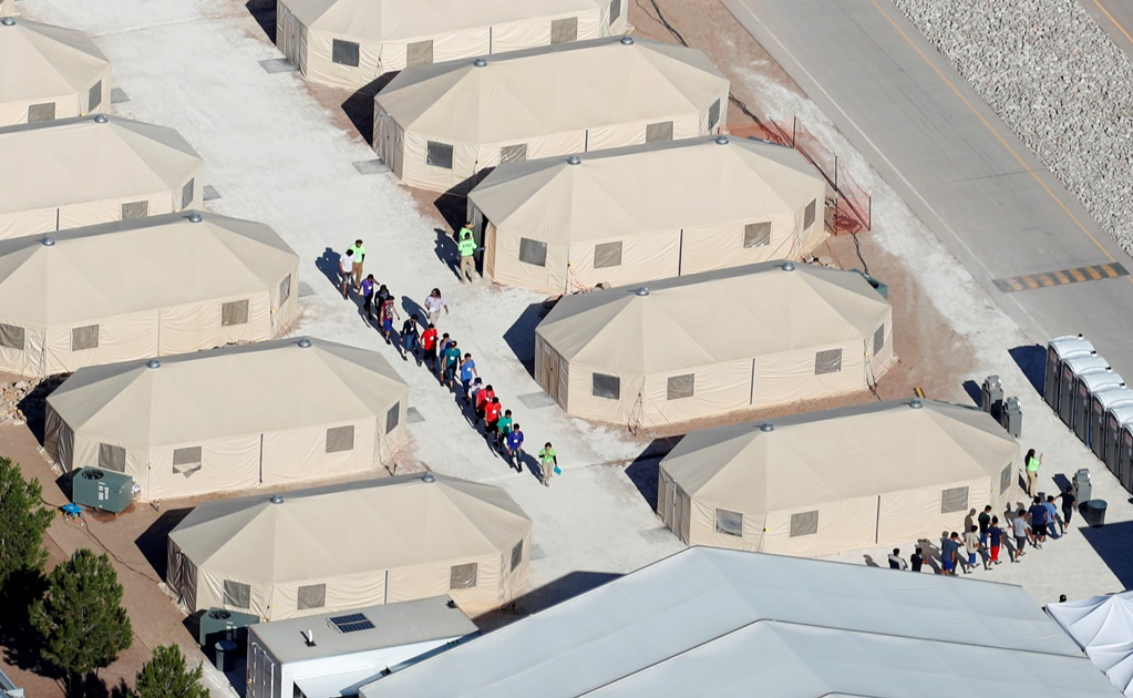 Trump is still playing with immigrant children in a election year