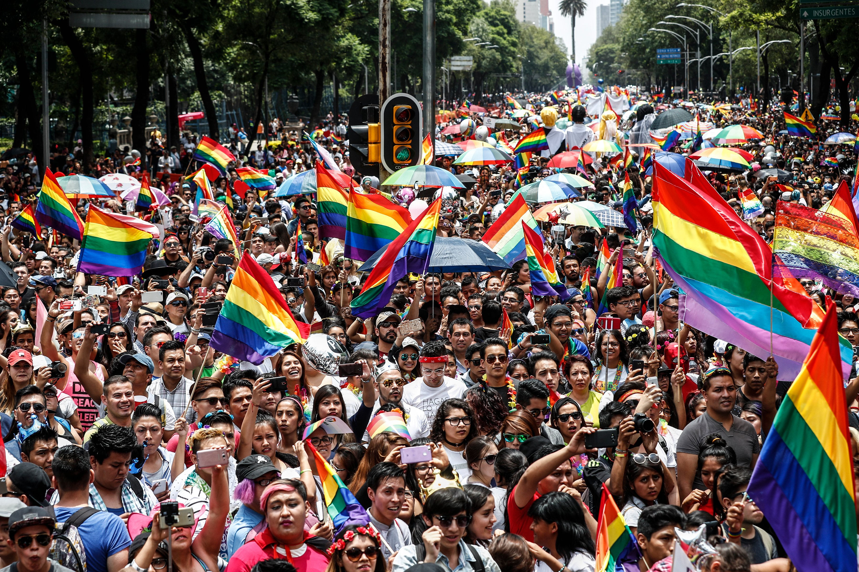 40th anniversary of Gay Pride in Mexico