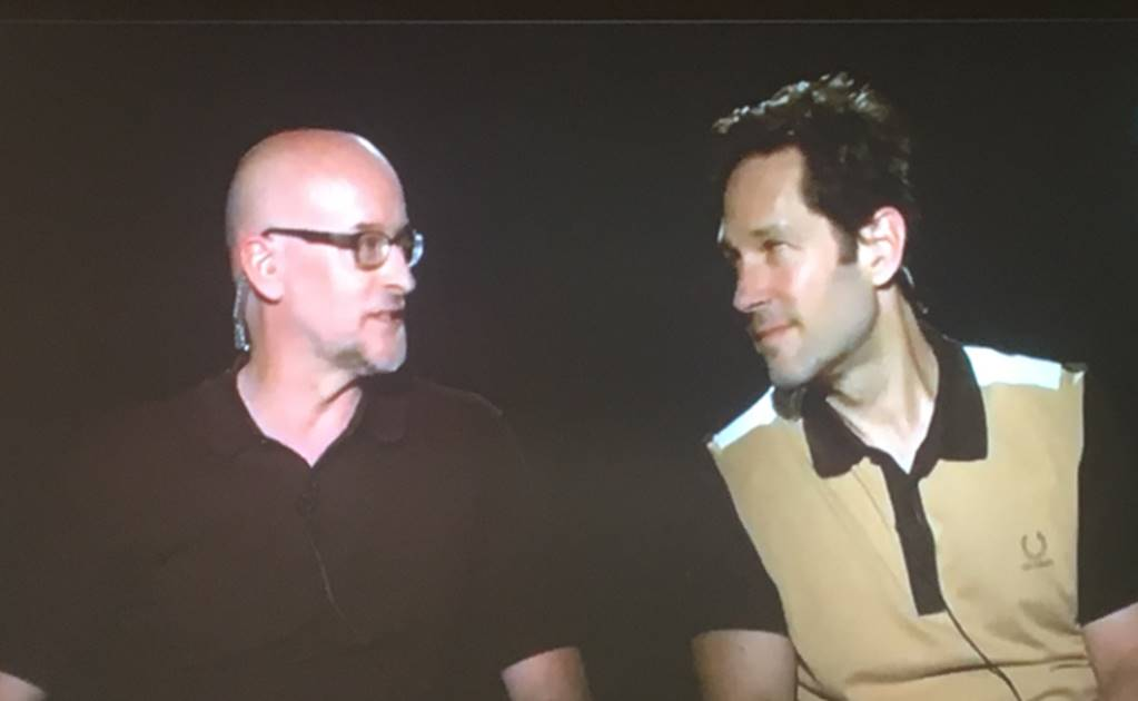 Peyton Reed y Paul Rudd, director y protagonista de Ant-Man and the Wasp