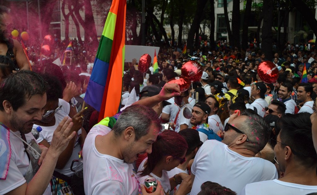 Celebrating the gay community in Mexico City