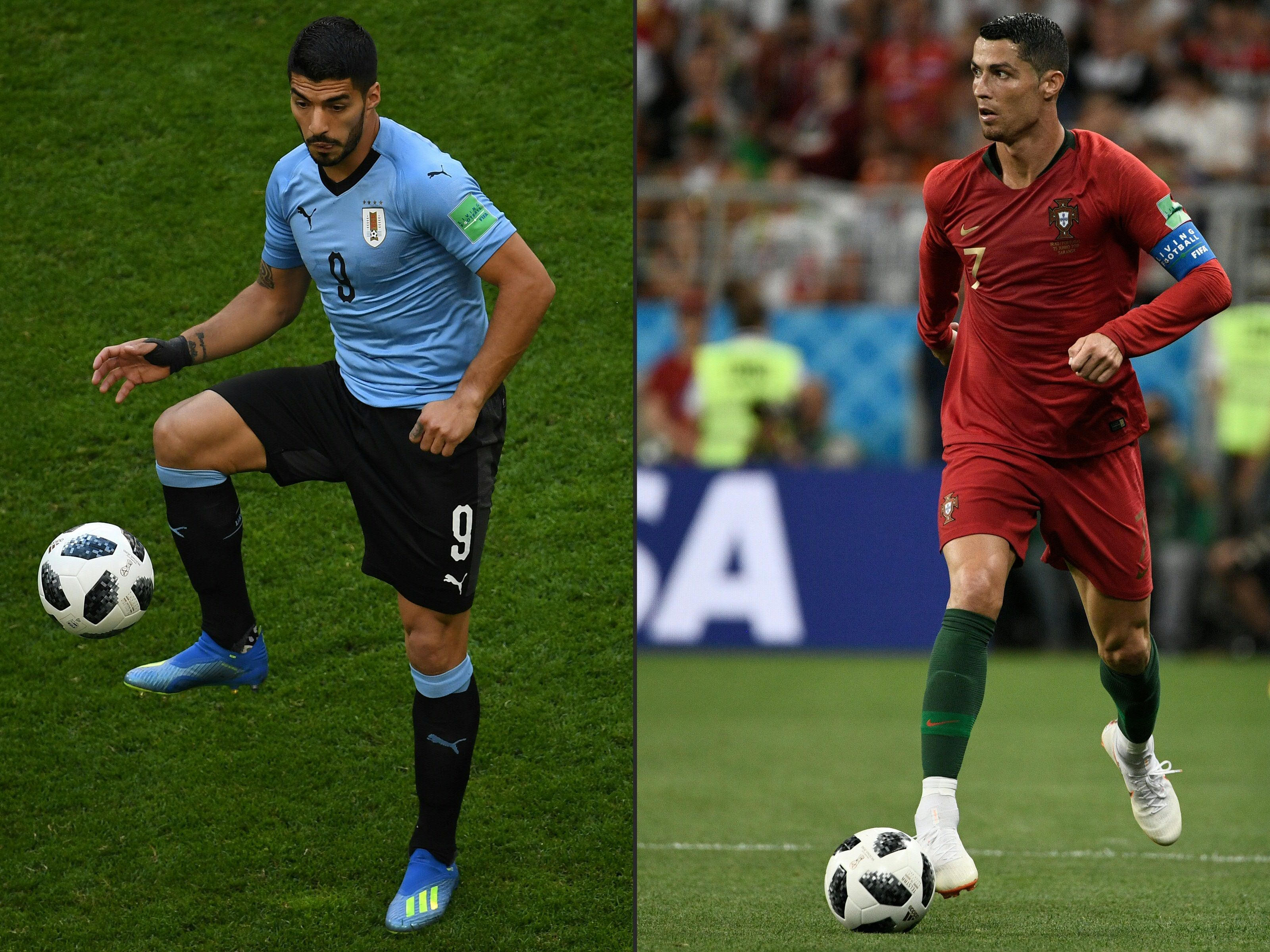 ​Previa: Uruguay vs Portugal en datos