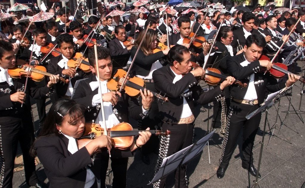 Traditional Mexican and Peruvian music in Kazakhstan
