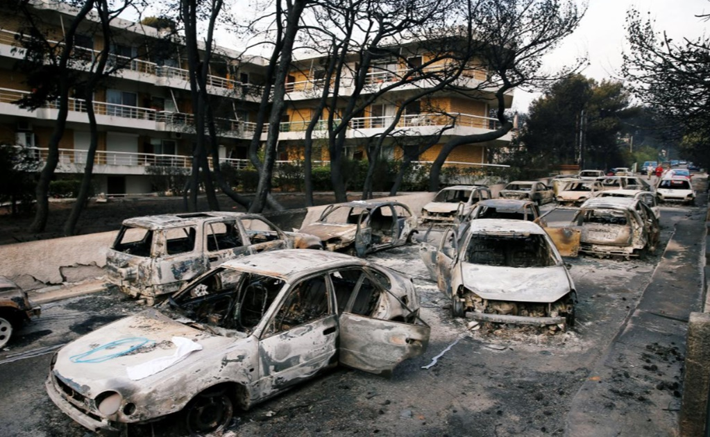 Greece's worst wildfires in a decade rage near Athens