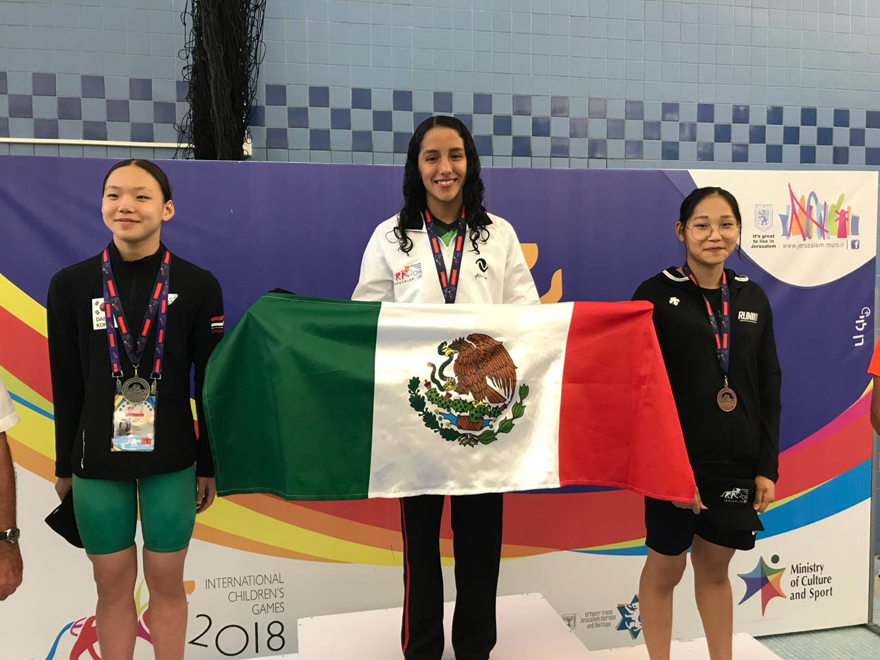 Caen primeras medallas en los International Children Games 2018