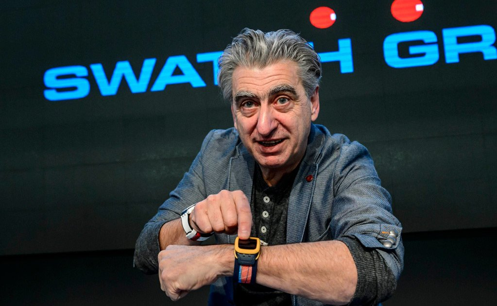 Nick Hayek, CEO de Swatch Group