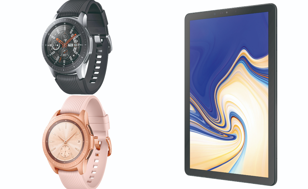Galaxy Watch Galaxy Tab S4