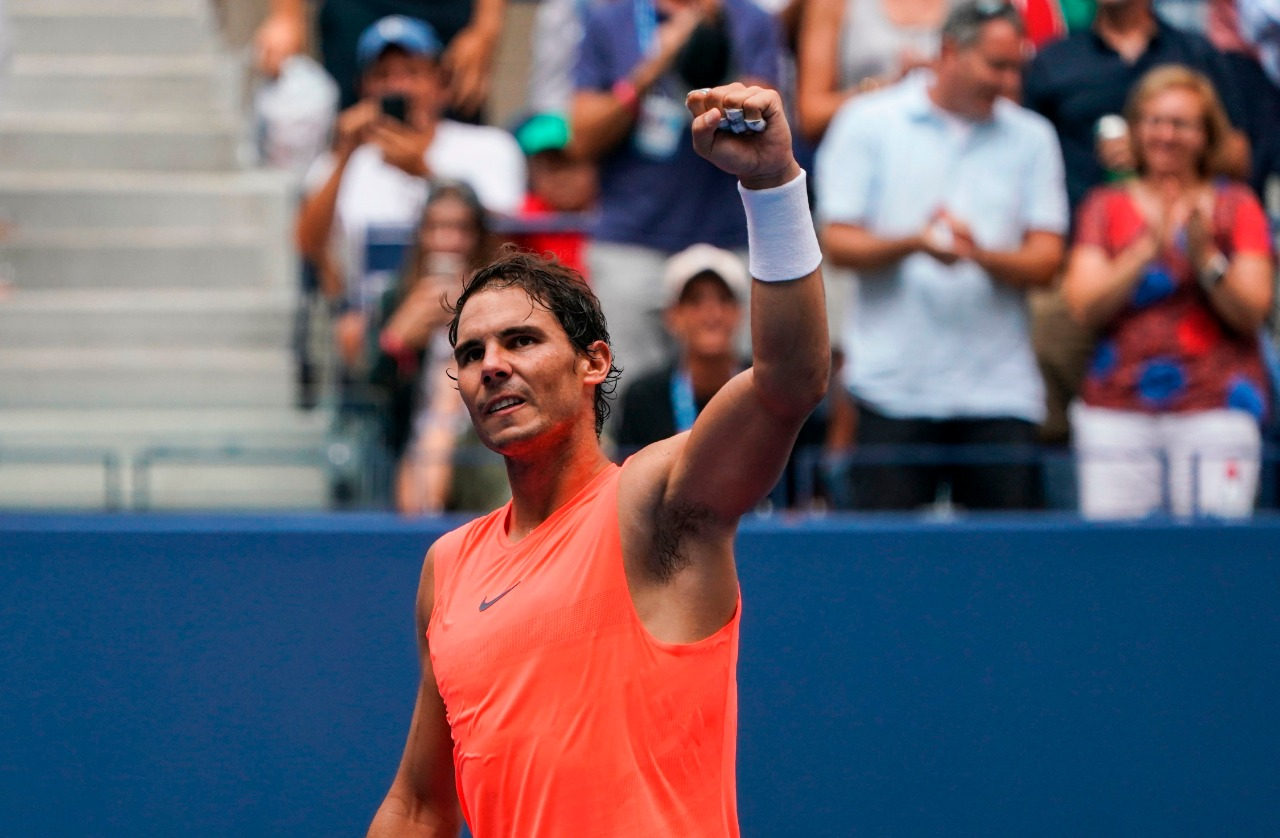 Nadal, a cuartos de final del US Open