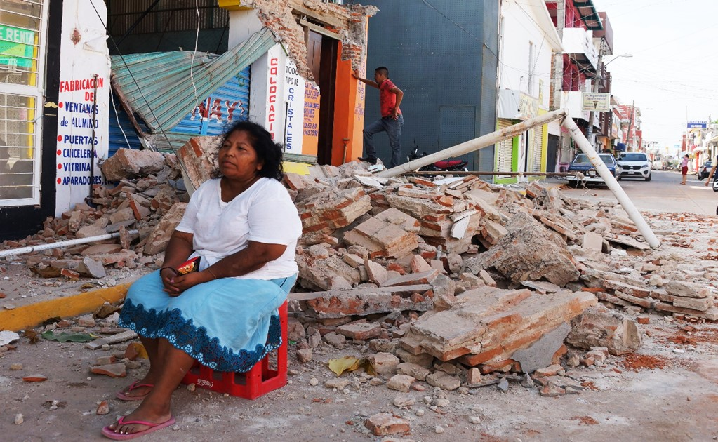 8,000 victims from Oaxaca and Chiapas have been abandoned by the government