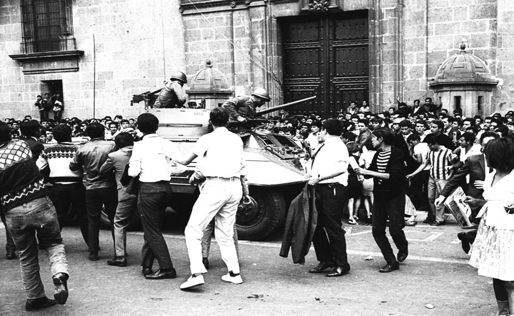 1968: Mexican government to acknowledge human rights violations