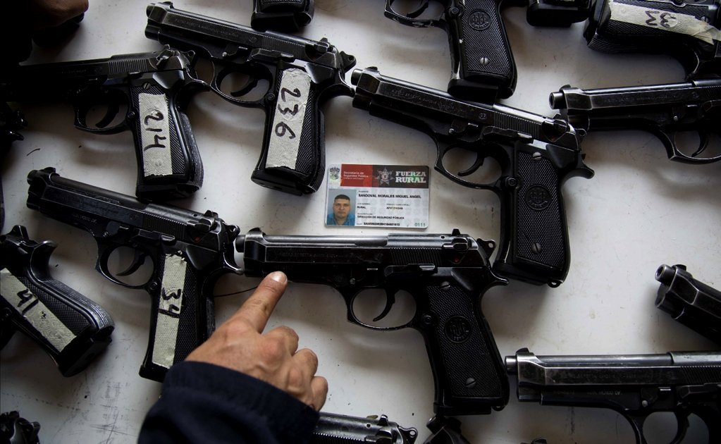 One million people in Mexico fell victim to armed robbery in 2017