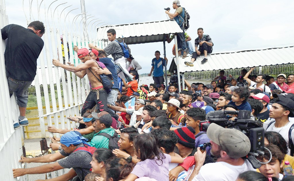 Mexico deports more Central Americans than the U.S.