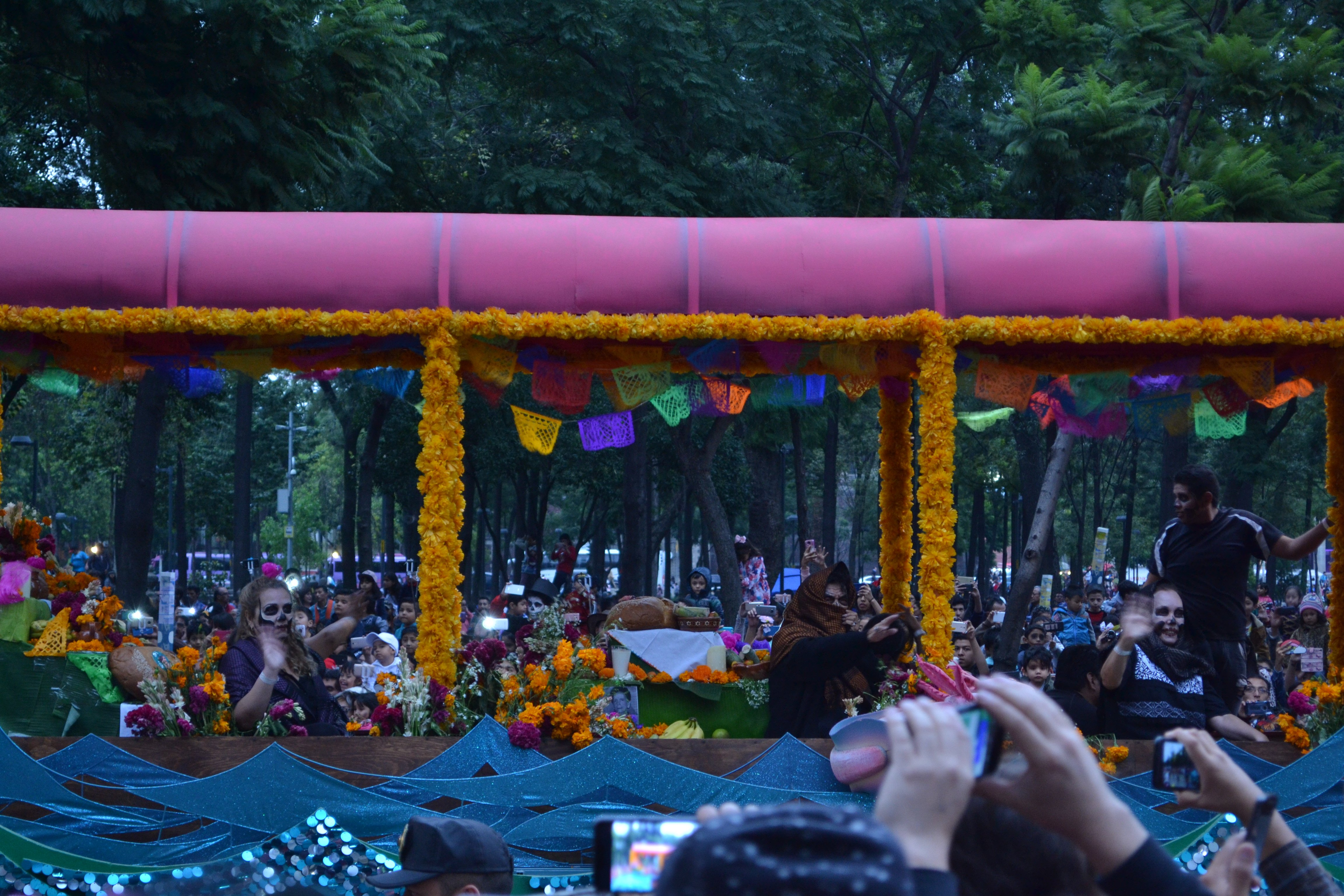 """Cempasúchil flowers, also known as """"The Flower of the Dead"""" are one of the most important symbols of this celebration"""