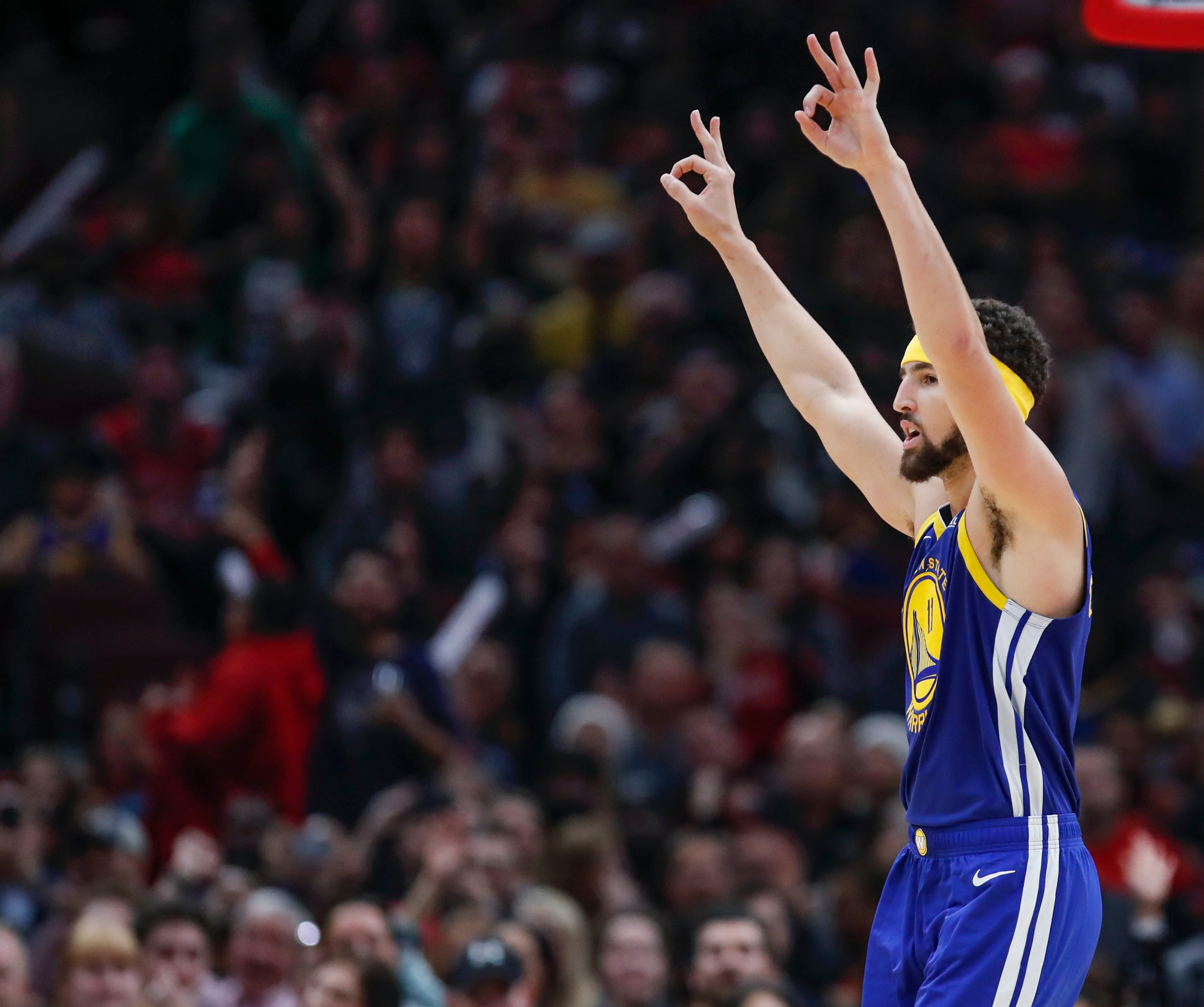 El imposible récord de Klay Thompson en la NBA