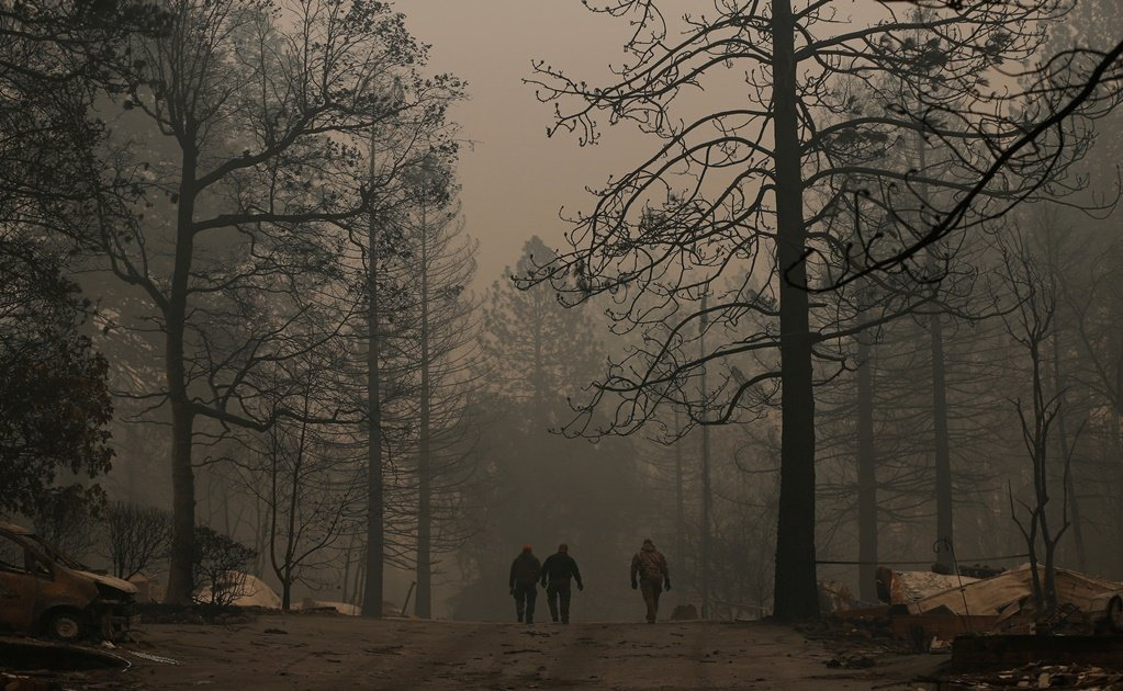 Paradise Lost in the aftermath of the Camp Fire