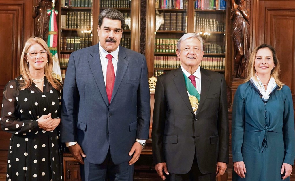 Maduro had to leave after lunch