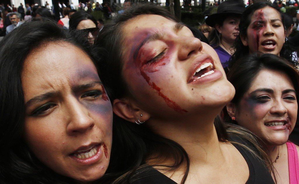 Millions of women are victims of domestic violence