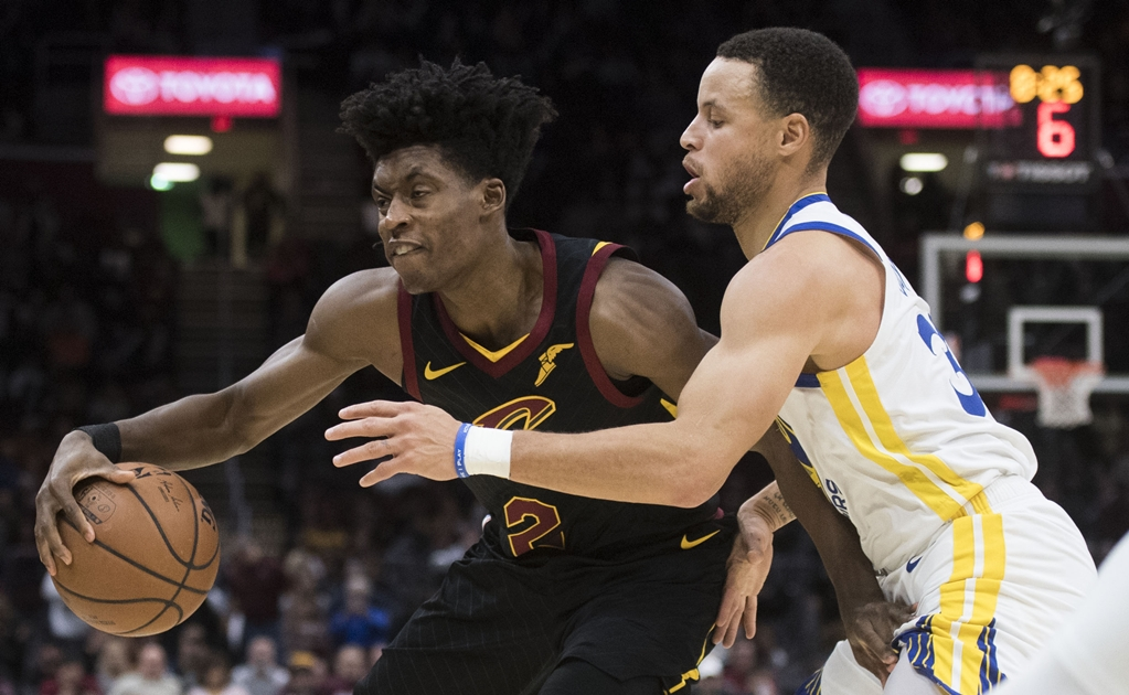 Curry y los Warriors aplastan a los cavs