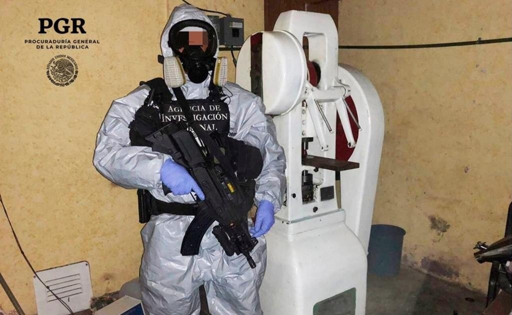 Mexican authorities raid fentanyl lab in Mexico City