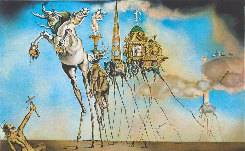 Mexico to auction prints by Salvador Dalí