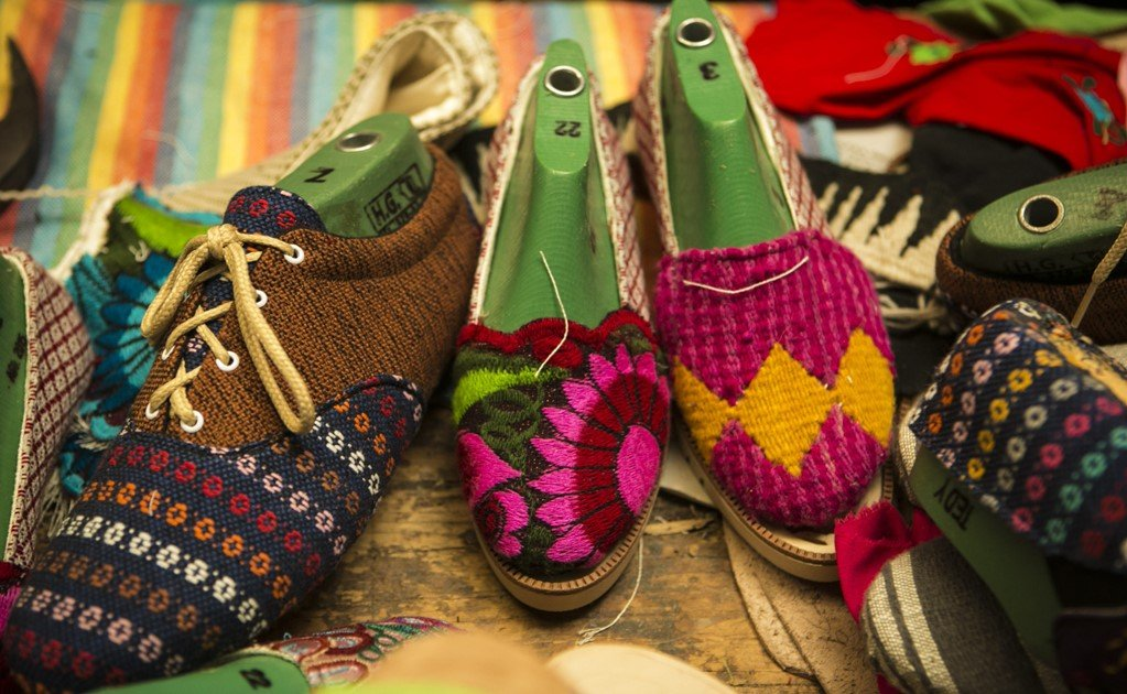 Biodegradable shoes made in Oaxaca