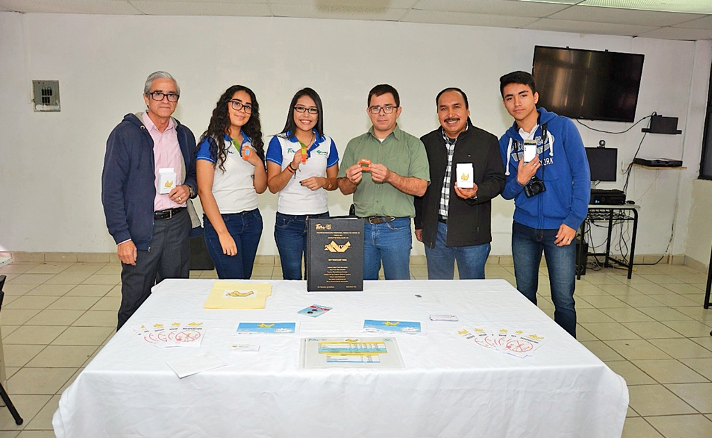 Female students create anti-kidnap wristband in Mexico