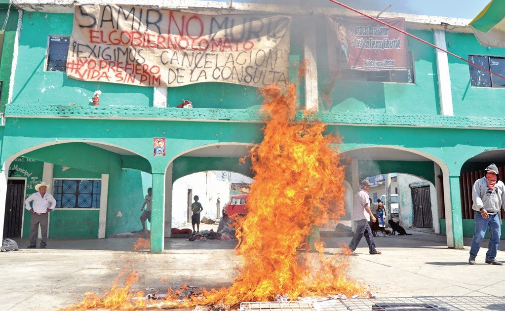 The turmoil behind the thermoelectric plant in Morelos