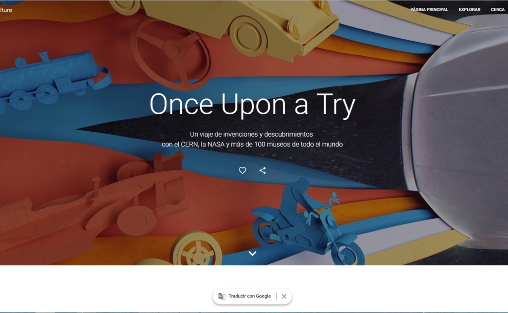 Google Once Upon a Try