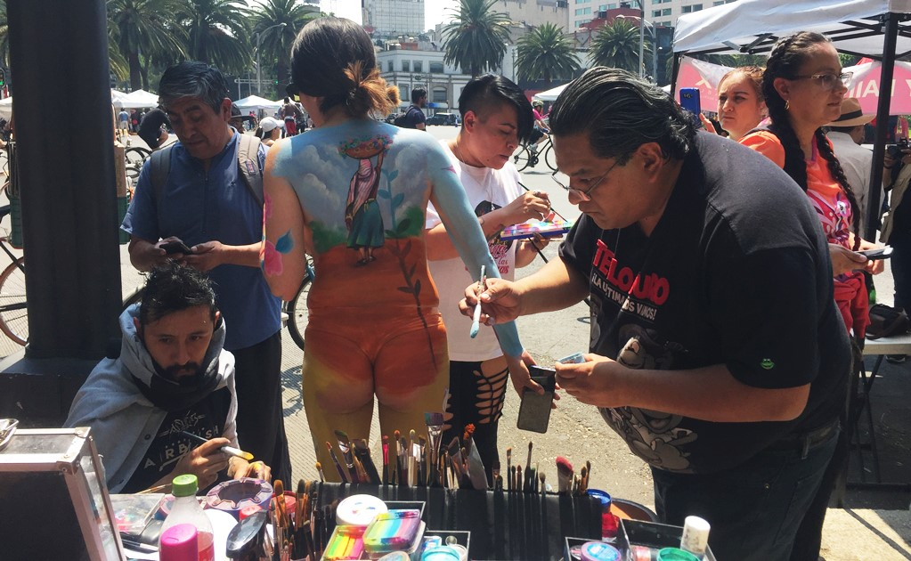 Liberating women through body paint
