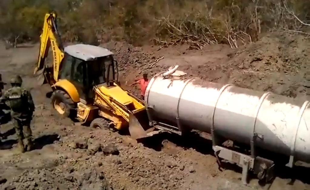 Mexican Navy seizes 10.5 thousand gallons of stolen fuel