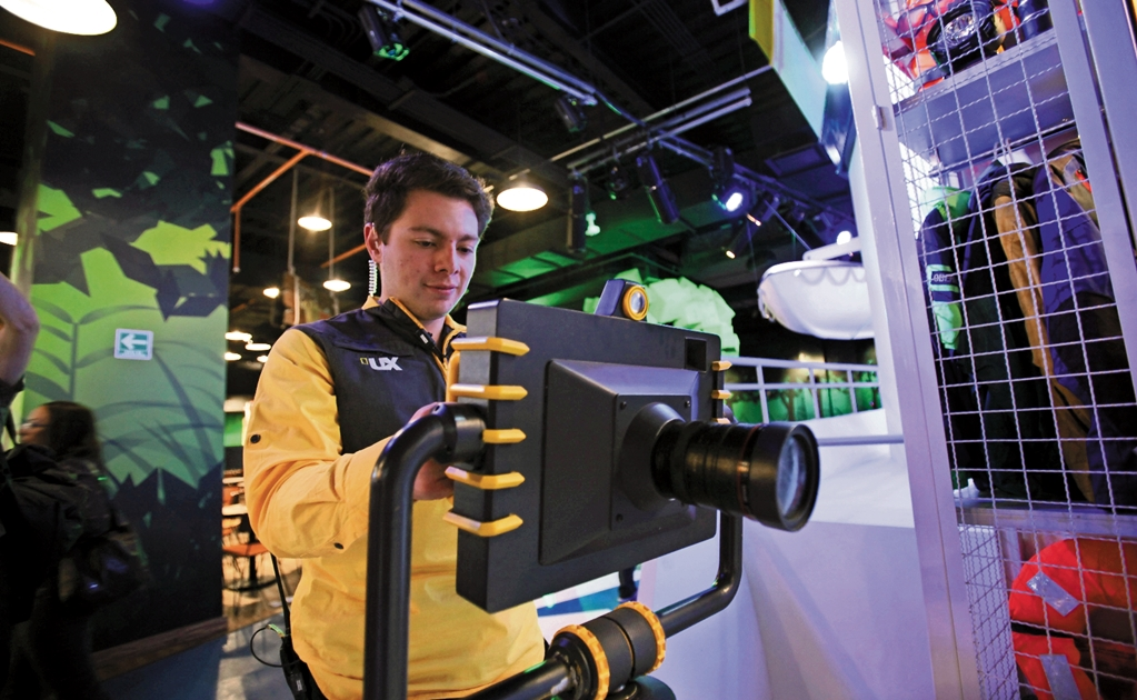 Nat Geo opens first VR science park in Mexico