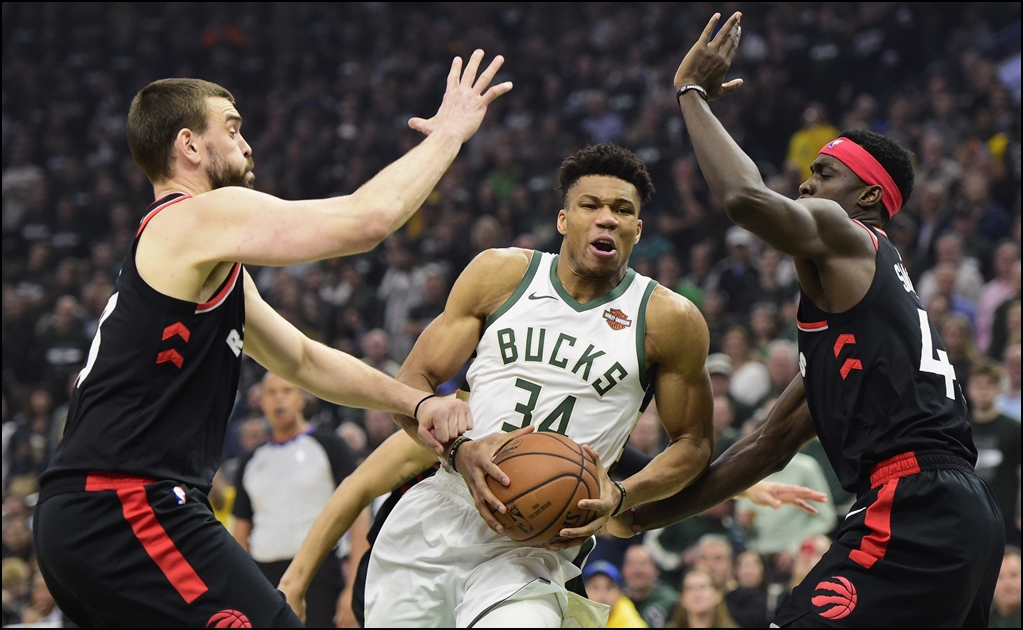 Bucks vs Raptors, Final de la Conferencia Este