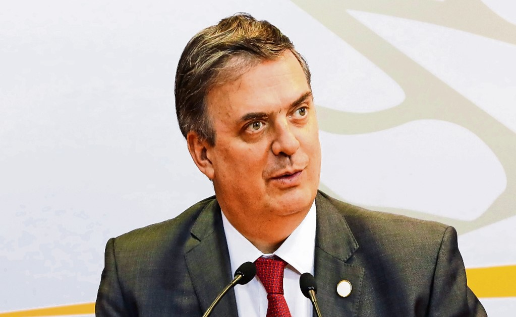 Marcelo Ebrard's new mission