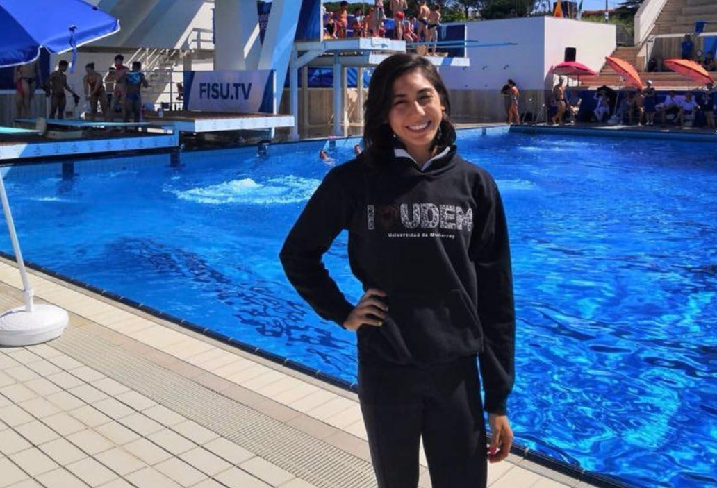 Mexican diver Alejandra Estrella wins gold at Summer Universiade