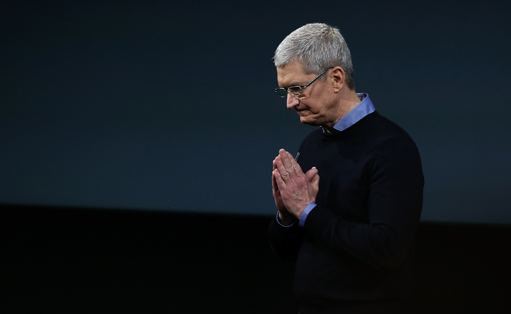 Tim Cook estudio japonés incendio