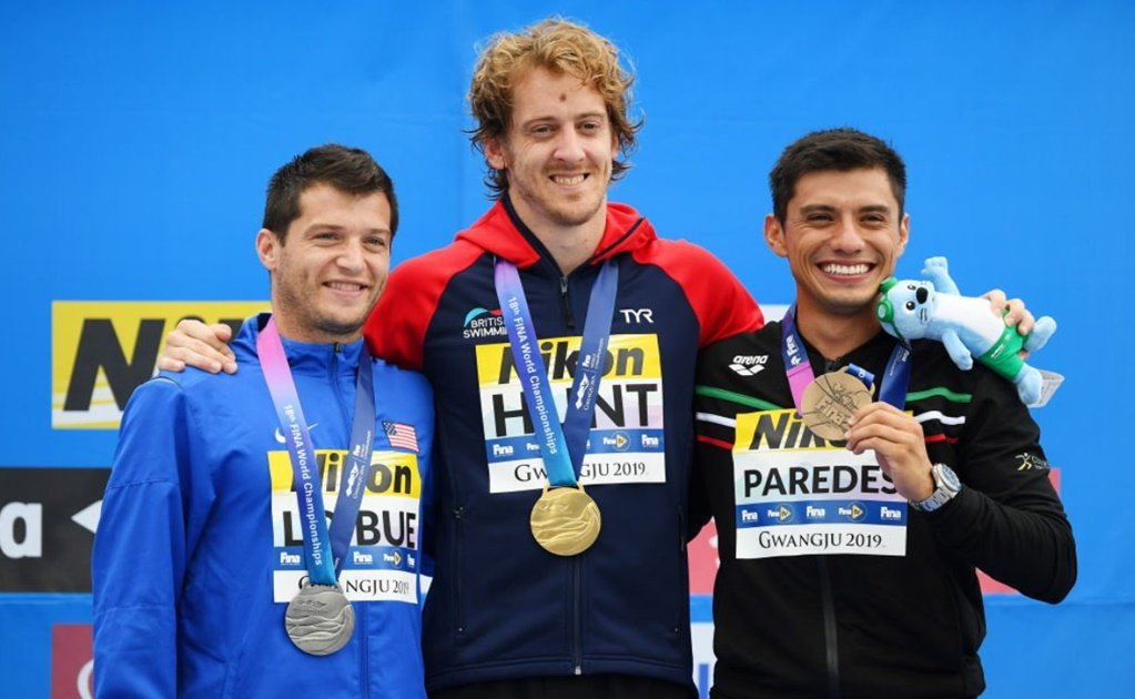 Mexican diver Jonathan Paredes wins bronze in World Championships