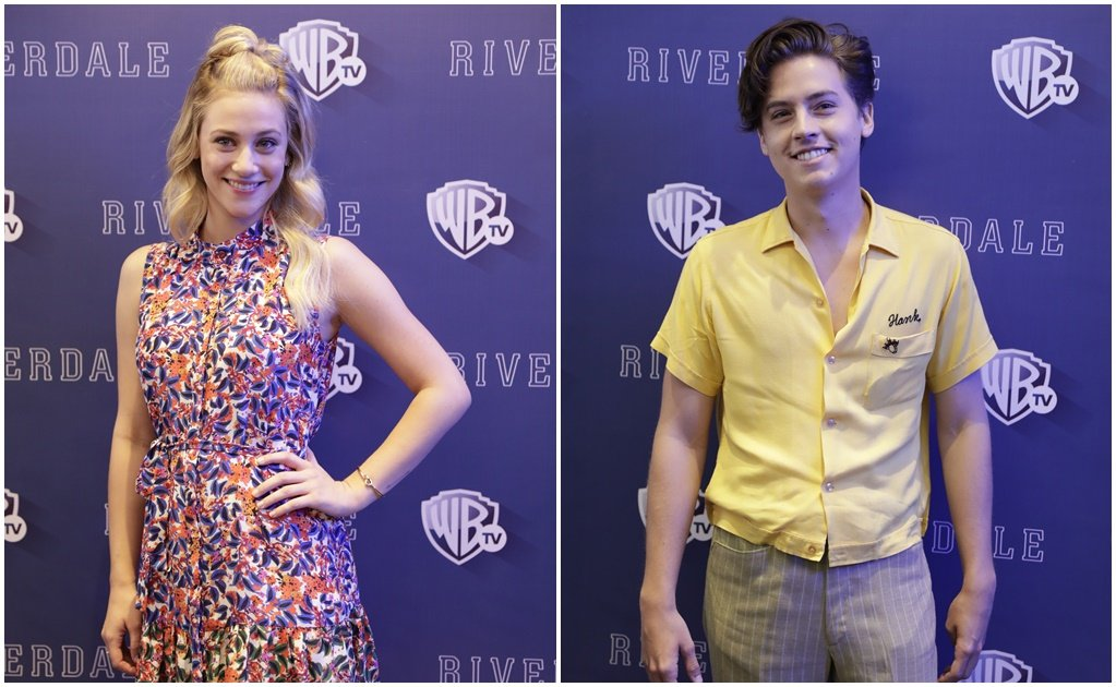 Lili Reinhart y Cole Sprouse